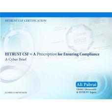 HITRUST CSF = A Prescription for Ensuring Compliance