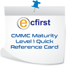 CMMC Maturity Level 1 Quick Reference Card