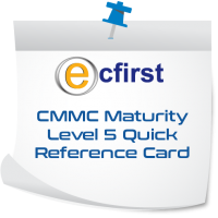 CMMC Maturity Level 5 Quick Reference Card