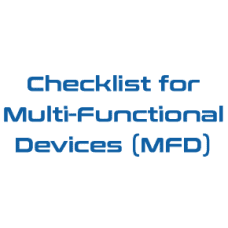 Checklist for Multi-Functional Devices (MFD)