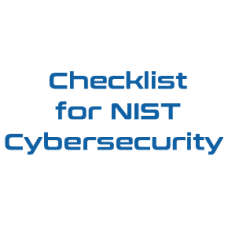 Checklist for NIST Cybersecurity
