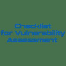 Checklist for Vulnerability Assessment