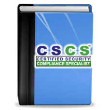 Certified Security Compliance Specialist™ (CSCS™) Study Kit