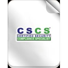 Certified Security Compliance Specialist™ (CSCS™) Practice Quiz
